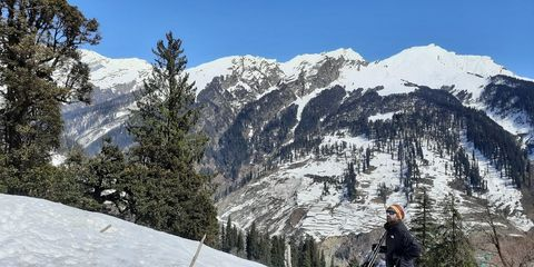 Intermediate Skiing Course, Feb 2020 - Solang Valley, ABVIMAS, Manali, Himachal Pradesh