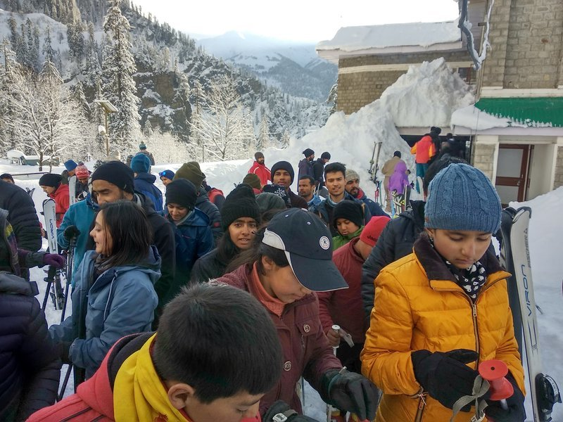 Basic Skiing course feb 2019 batch
